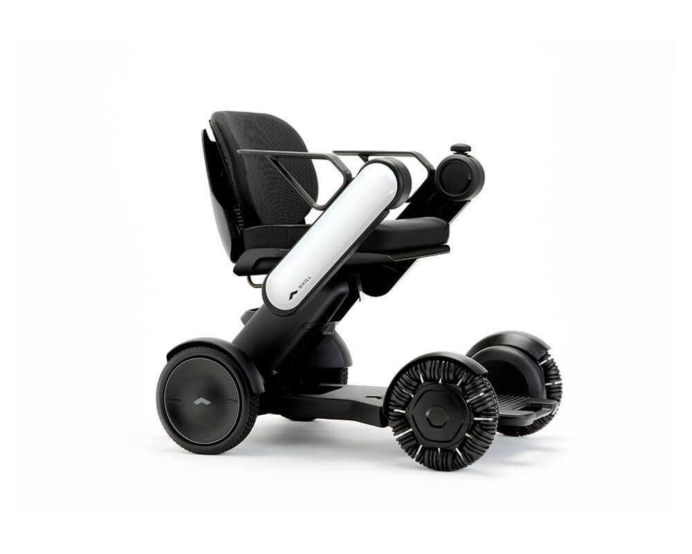 silla eléctrica whill model c